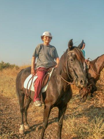 להיות על הסוס